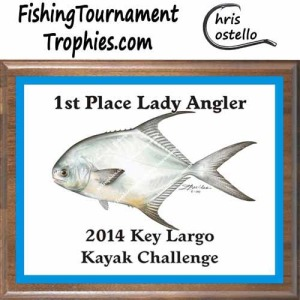 Fishing Tournament Trophies