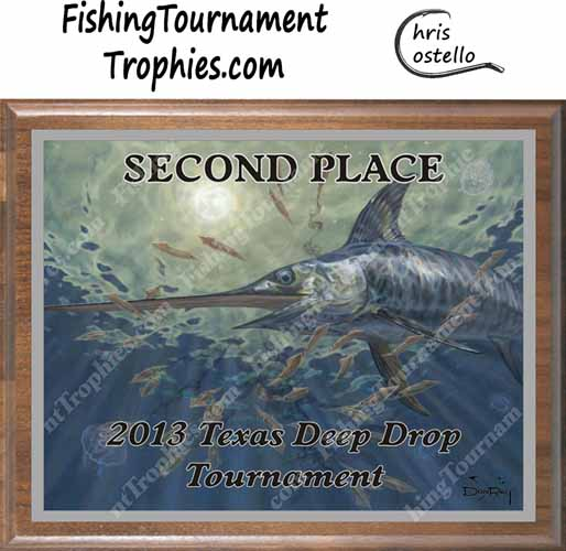 Blue Marlin Tournament Trophies